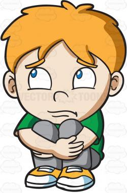Fear clipart worried child