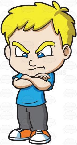 Little Boy clipart standing boy