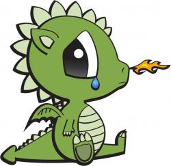 Little Dragon clipart baby dragon