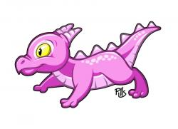 Little Dragon clipart cute dragon