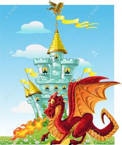 Little Dragon clipart fairytale