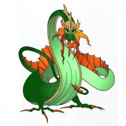 Ferocious clipart fire breathing dragon