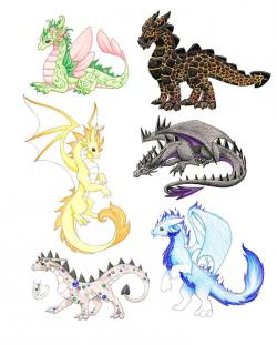 Ferocious clipart medieval dragon