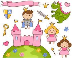 Princess clipart prince