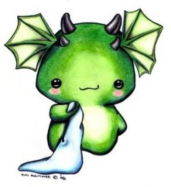 Dragon clipart adorable