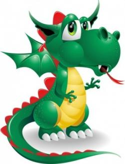 Randome clipart baby dragon