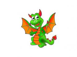 Little Dragon clipart story character