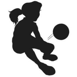 Soccer clipart volleyball