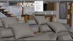 Living Room clipart autodesk maya