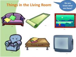 Living Room clipart my house