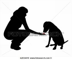 Obey clipart animal trainer
