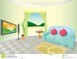 Living Room clipart to live