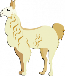 Lama clipart baby llama