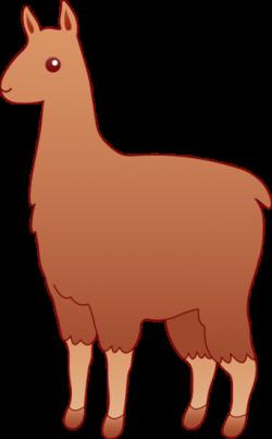 Lama clipart llama