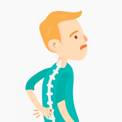 Loading clipart backache