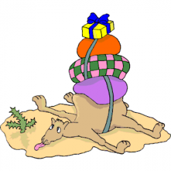 Loading clipart camel
