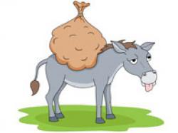 Loading clipart donkey