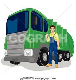 Loading clipart waste truck