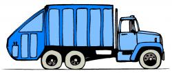 Trash clipart waste truck