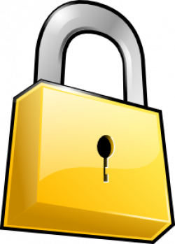 Lock clipart closed