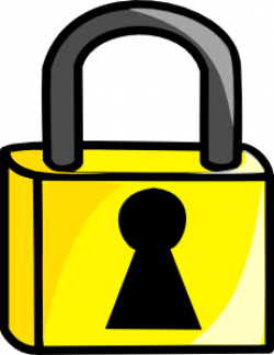 Lock clipart jail