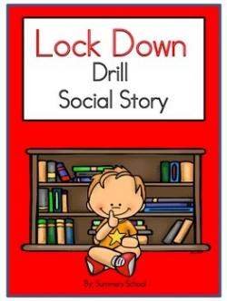 Lock clipart lockdown drill