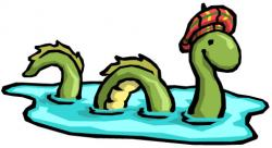 Lock clipart ness monster