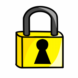 Lock clipart safety and security