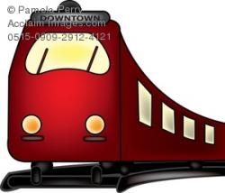 Railways clipart electric train