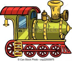 Locomotive clipart funny
