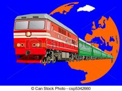 Railways clipart