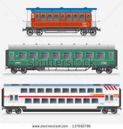 Railways clipart side view