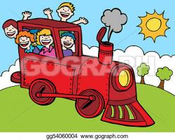 Locomotive clipart train ride