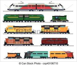 Railways clipart mode transport