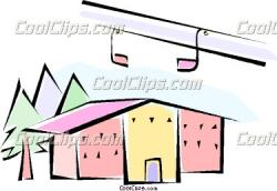 Ski Lodge clipart