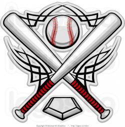 Baseball clipart emblem