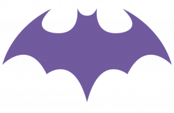 Logo clipart batgirl