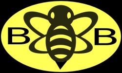 Logo clipart bee