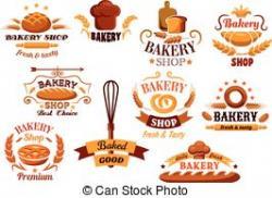 Logo clipart bread