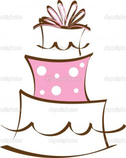 Logo clipart cake