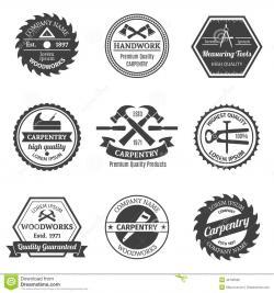 Logo clipart carpenter