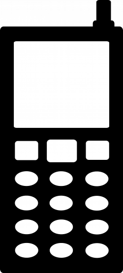Symbol clipart cell phone