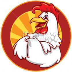 Logo clipart chicken