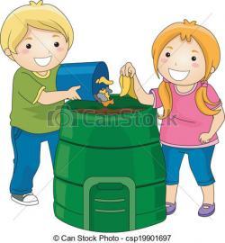Trash clipart compost heap