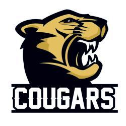 Puma clipart cougar football