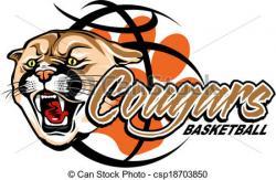 Puma clipart cougar basketball