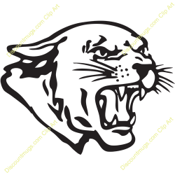 Cougar clipart cougar head