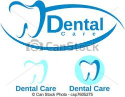 Logo clipart dental care