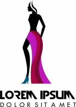 Logo clipart fashion