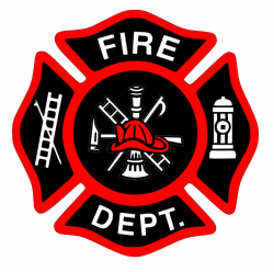Shield clipart firefighter